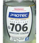 706 Paraglaze Base Coat Colour